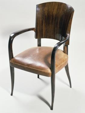 Art Deco Style Armchair by Jacques-emile Ruhlmann