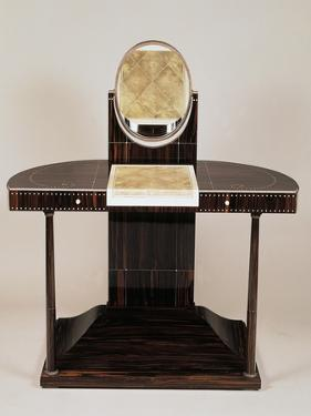 Art Deco Style Dressing Table with Columns by Jacques-emile Ruhlmann