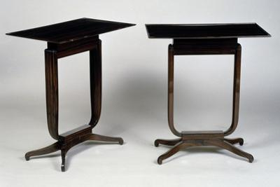 Art Deco-Style Tables, Bloch Model, 1920-1940