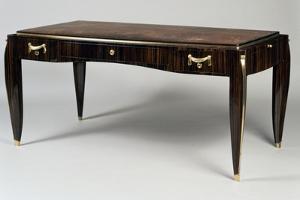 Art Deco Style Writing Desk, Ambassade 25 Model, 1933 by Jacques-emile Ruhlmann