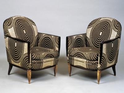 Pair of Art Deco Style Armchairs, Ducharne Model, 1926
