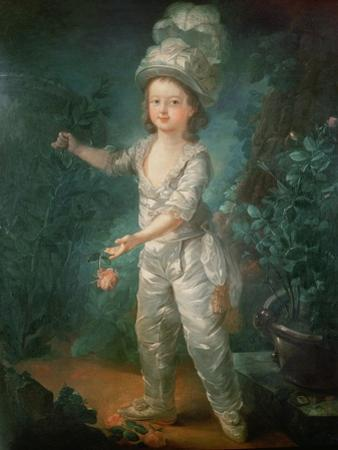 Portrait of the Dauphin, Later King Louis XVII of France (1785-95)