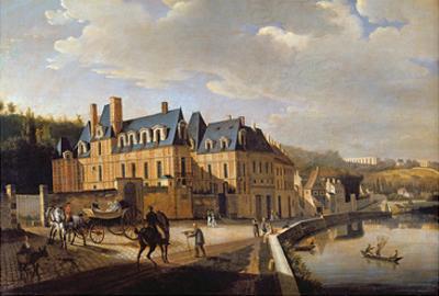 Chateau De La Chaussee Near Bougival, 1822