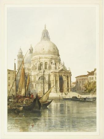Santa Maria Della Salute, Venice by Jacques Guiaud