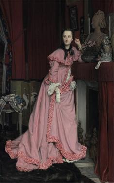 Portrait of the Marquise de Miramon, nee, Therèse Feuillant by Jacques Joseph Tissot