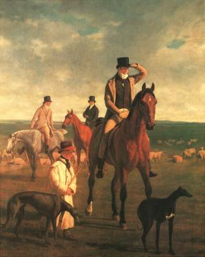Lord Rivers by Jacques-Laurent Agasse