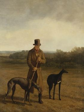 Portrait of Lord Rivers with Two Greyhounds, C.1825 by Jacques-Laurent Agasse