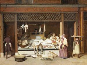 The Fish Shop by Jacques-Laurent Agasse