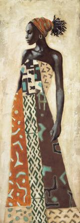 Femme Africaine IV by Jacques Leconte