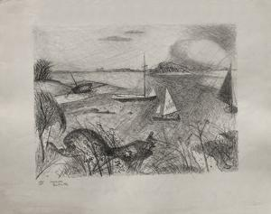 Bord De Mer by Jacques Lestrille