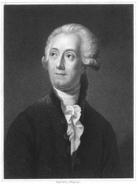 Antoine Laurent Lavoisier, French Chemist, 18th Century by Jacques-Louis David