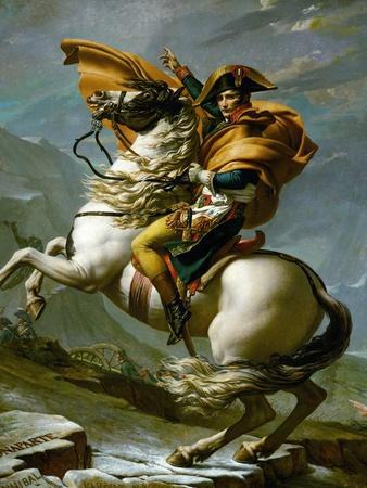 Bonaparte Crossing the Great Saint Bernard Pass, 1801