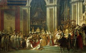 Coronation of Empress Josephine on Dec. 2, 1804 by Jacques Louis David