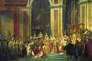 Coronation of Napoleon Bonaparte by Jacques-Louis David