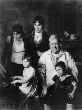 Family Portrait by Jacques Louis David