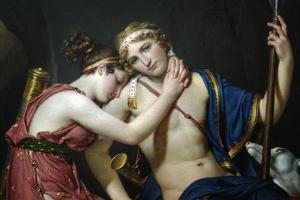 Farewell of Telemechus and Eucharis by Jacques-Louis David