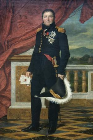General Étienne-Maurice Gérard (1773–1852), Marshal of France by Jacques-Louis David