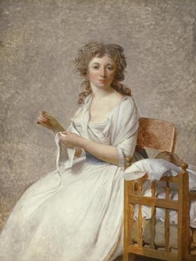 Madame De Pastoret and Her Son, 1791-92 by Jacques Louis David
