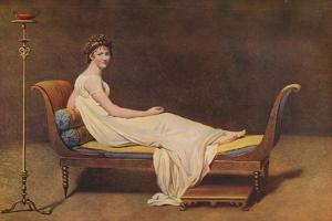 'Madame Recamier', 1800, (c1915) by Jacques-Louis David