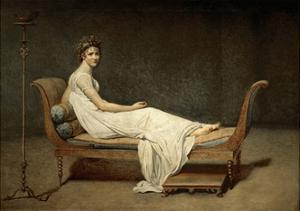 Madame Récamier, Née Julie Bernard (1777-184) by Jacques Louis David