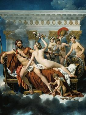 Mars Disarmed by Venus and the Three Graces by Jacques-Louis David