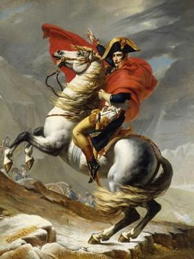 Napoleon Crossing the Grand Saint-Bernard Pass, 20 May 1800, 1802 by Jacques-Louis David