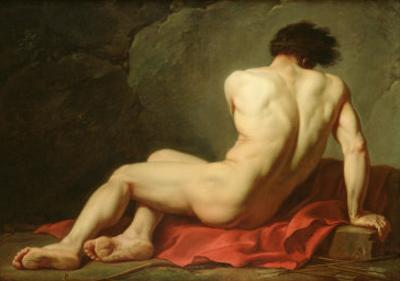 Patrocles by Jacques-Louis David