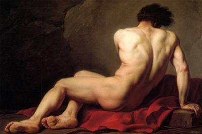 Patroclus by Jacques-Louis David