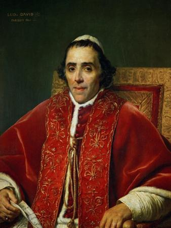 Pope Pius VII (1742-1823) by Jacques-Louis David