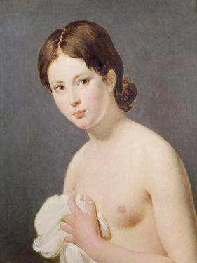 Portrait of a Young Girl. c. 1795 by Jacques-Louis David