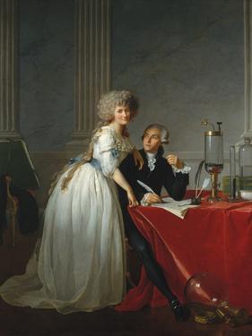 Portrait of Antoine-Laurent Lavoisier and his Wife by Jacques-Louis David