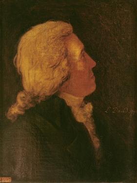 Portrait of Bernard Barere De Vieuzac (1755-1841) 1790 by Jacques Louis David