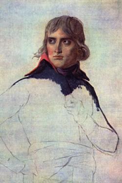 Portrait of General Napoleon Bonaparte by Jacques-Louis David