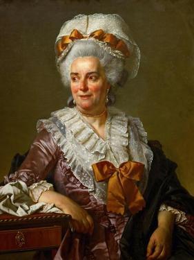 Portrait of Geneviève Jacqueline Pécoul by Jacques Louis David