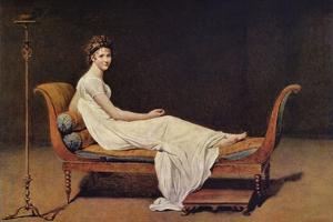 Portrait of Madame Récamier by Jacques-Louis David
