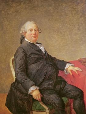 Portrait of Philippe-Laurent De Joubert (1729-82) by Jacques Louis David