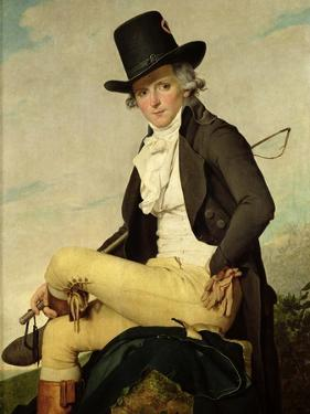 Portrait of Pierre Seriziat (1757-1847) the Artist's Brother-In-Law, 1795 by Jacques-Louis David