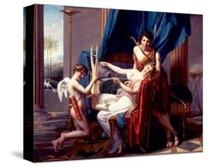 Sappho and Phaon, 1809 by Jacques-Louis David