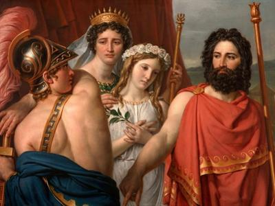 The Anger of Achilles by Jacques Louis David