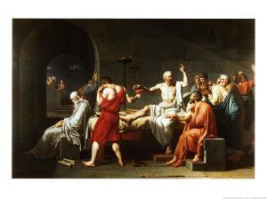 The Death of Socrates, c.1787 by Jacques-Louis David