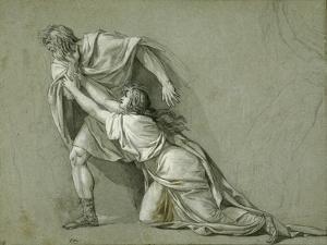 The Departure of Marcus Attilius Regulus for Carthage, 1785-86 by Jacques Louis David