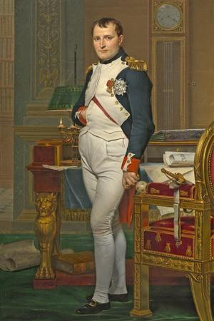 The Emperor Napoleon in His Study at the Tuileries, 1812