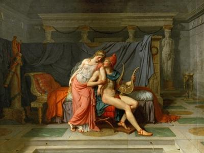 The Loves of Helen and Paris by Jacques Louis David