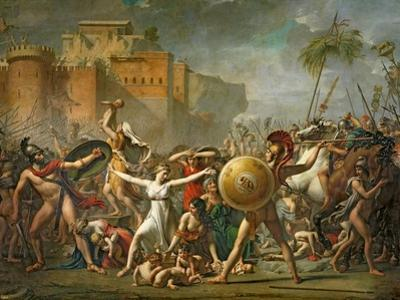 The Sabine Women, 1799 by Jacques-Louis David