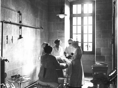 Operating Theatre of the Scottish Women's Hospital in the Abbey of Royaumont, 1915 by Jacques Moreau