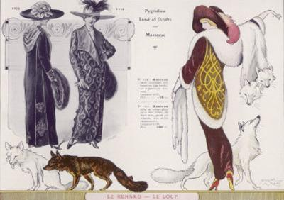 Fox Fur Stole 1912