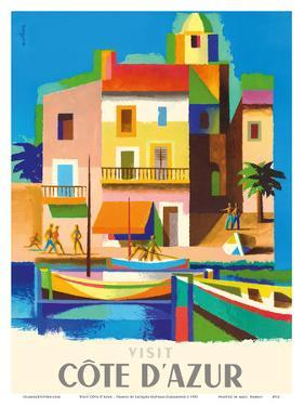 Visit Cote D'Azur - France - The French Riviera by Jacques Nathan-Garamond
