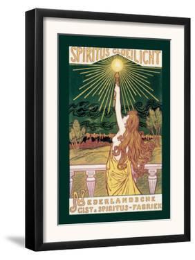Spirit Incandescent Light by Jacques Zon