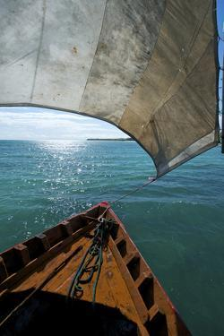 View From a Fishing Dhow Off the Coast of Matemo Island, Mozambique by Jad Davenport