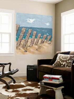 Beach Scene Triptych II by Jade Reynolds